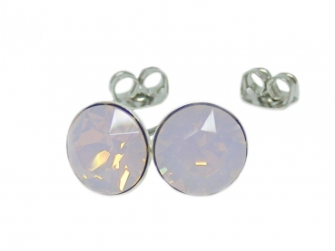Ohrstecker 6 mm Rose Water Opal