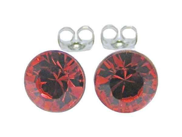 Ohrstecker 3 mm Padparadscha
